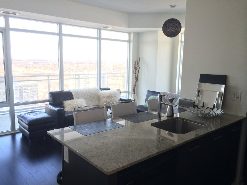Luxury Furnished Apartment - 1 Bedroom + Den - Image 1 - Mississauga - rentals