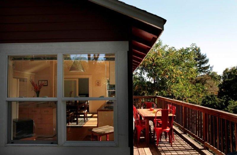 Wonderful 2 Bedroom, 2 Bathroom Home Surrounded by Trees - Private Getaway - Image 1 - Santa Cruz - rentals