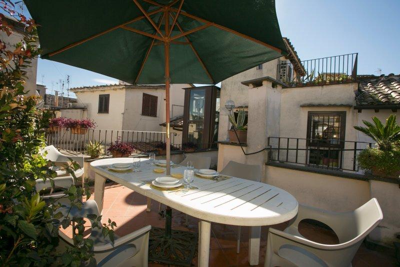 Beautiful Rome Apartment with Outdoor Patios and Views - Campo dei Fiori - Image 1 - Castel Gandolfo - rentals