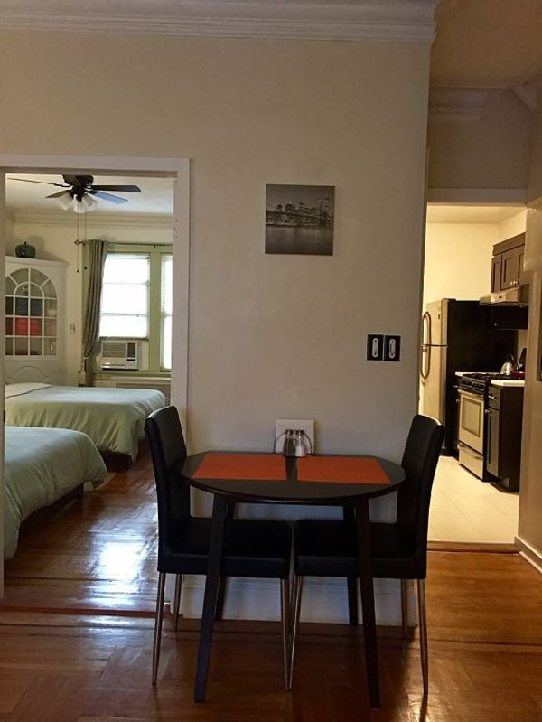 Furnished 1-Bedroom Townhouse at 34th Ave & 84th St Queens - Image 1 - New York City - rentals