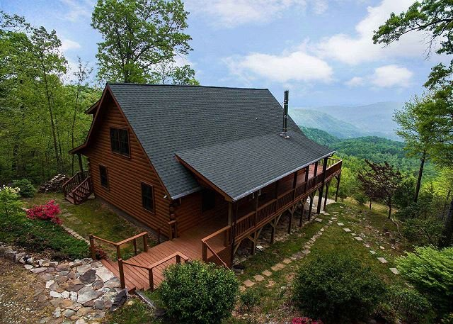 Cool View Cabin - Mountain Views & Hot Tub  - Cleaning fee incl. in rate! - Image 1 - Old Fort - rentals