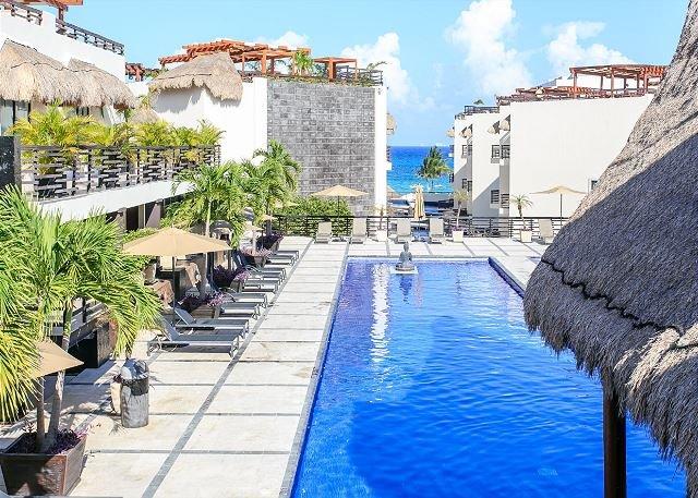 Full Renovate few steps from Mamitas Beach- Beautiful Condo with Private Pool - Image 1 - Playa del Carmen - rentals