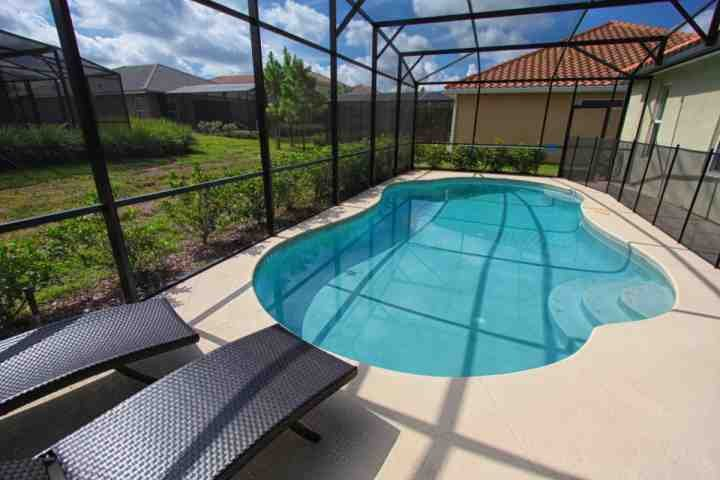 Large screened pool - 4072 Solterra - Davenport - rentals