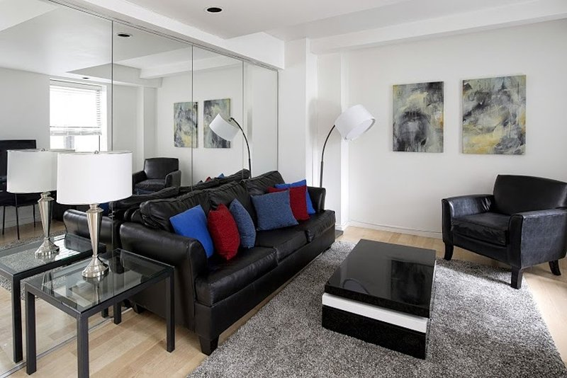 Furnished 1-Bedroom Apartment at 7th Ave & W 51st St New York - Image 1 - New York City - rentals