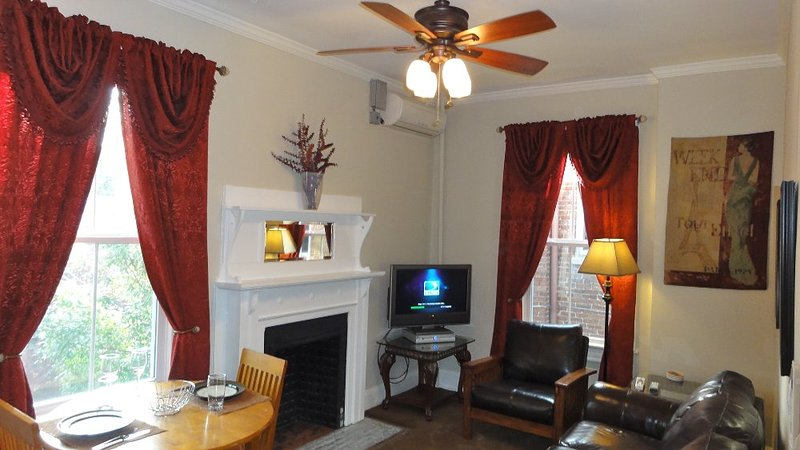 Furnished 1-Bedroom Apartment at 6th St NE & A St NE Washington - Image 1 - Fairlawn - rentals