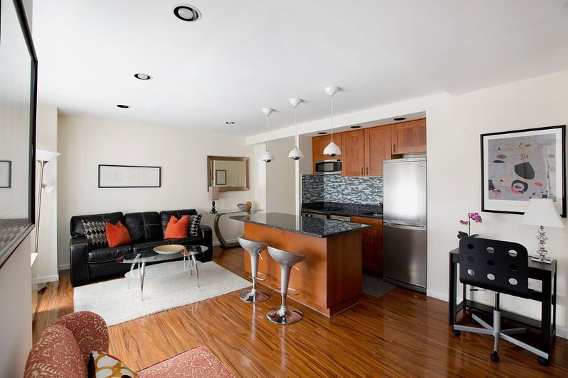 Furnished 1-Bedroom Apartment at Ave of the Americas & W 52nd St New York - Image 1 - New York City - rentals