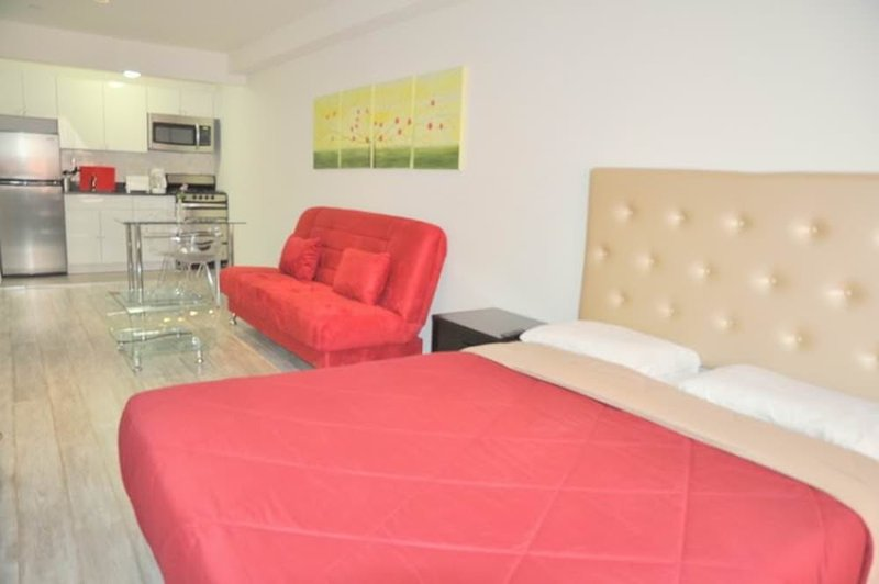 Furnished Studio Apartment at 10th Ave & W 49th St New York - Image 1 - New York City - rentals
