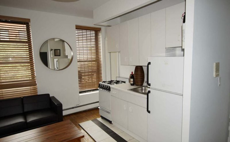 Furnished 1-Bedroom Apartment at 9th Ave & W 52nd St New York - Image 1 - New York City - rentals