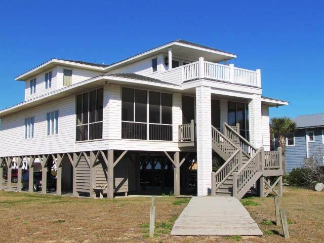 "2108 Palmetto Blvd - ""Jimmy Mac"" - Image 1 - Edisto Beach - rentals"