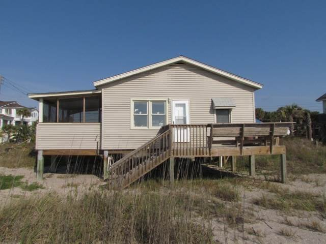 "520 Palmetto Blvd - ""Heather Bungleweed"" - Image 1 - Edisto Beach - rentals"