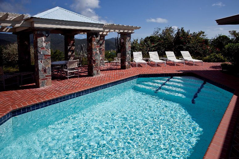 Refreshing pool at Softwinds Villa - SoftWinds - Saint John - rentals