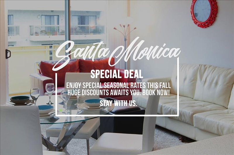 SANTA MONICA:  2 bed Walk to the Beach, Pier and Shopping! - Image 1 - Santa Monica - rentals