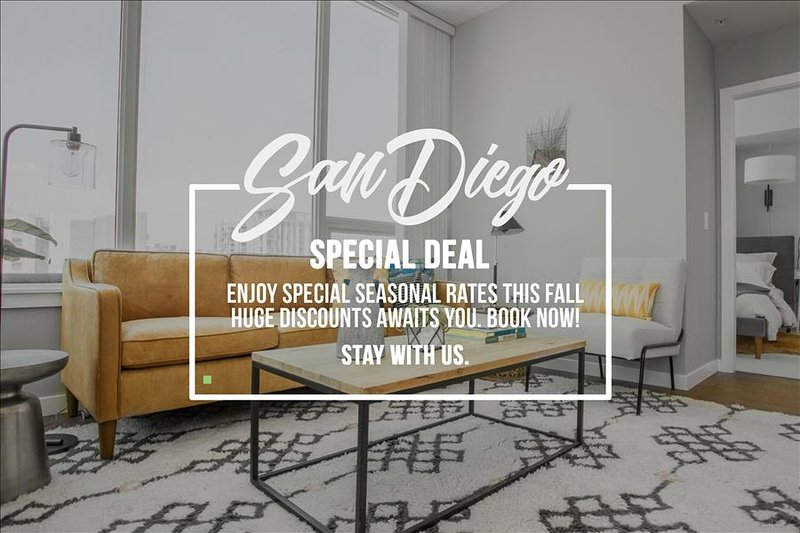 San Diego 3Bed Highrise Suites Walk to  Gaslamp District - Image 1 - San Diego - rentals