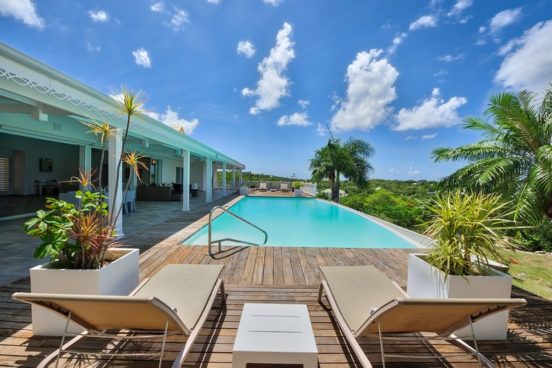 CALLISTO...a superb 3BR St Martin villa with sunset views! - Image 1 - Terres Basses - rentals