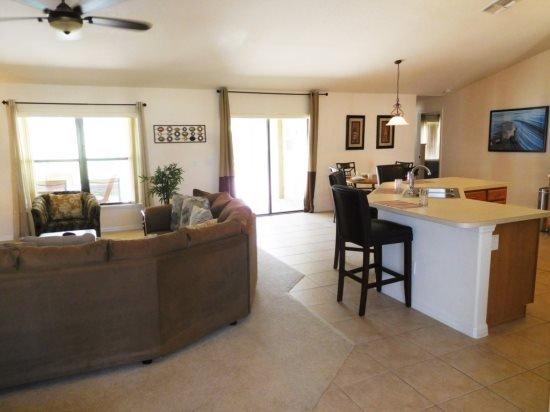 Elegant 4 Bedroom 2 Bath Pool Home In Legacy Park. 807CR - Image 1 - Kissimmee - rentals