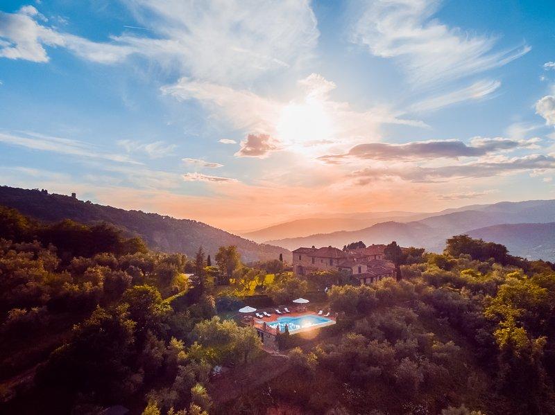 Beautiful Hilltop Villa in Tuscany with Spectacular Views - Villa Alessandro - Image 1 - Monsummano Terme - rentals