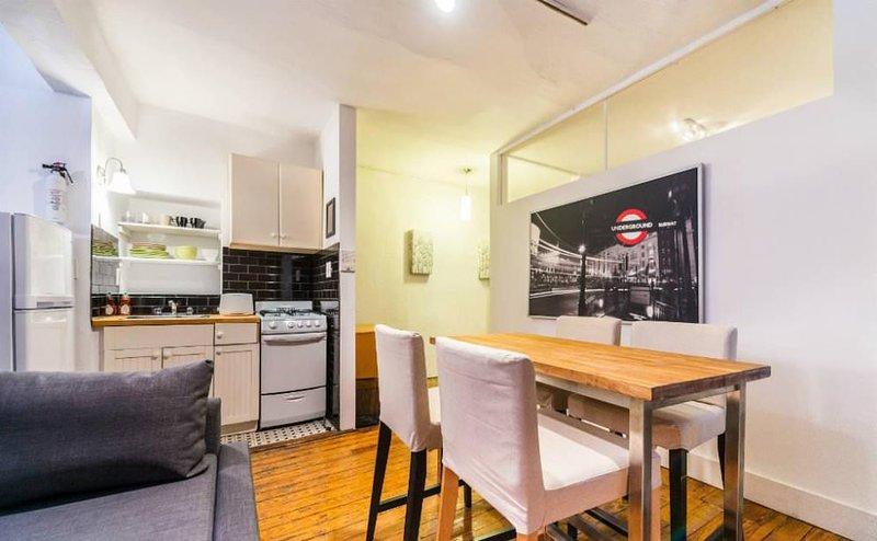 Lovely 2 Bedroom, 1 Bathroom Apartment in SoHo - Exposed Brick Design - Image 1 - New York City - rentals