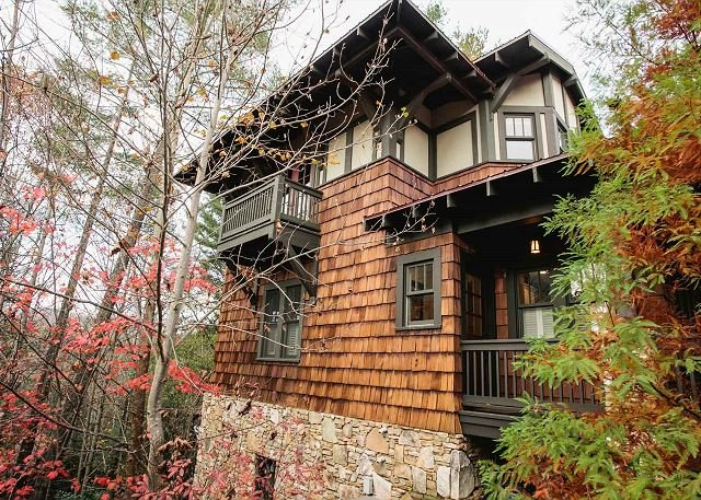 Tranquility Treehouse - Image 1 - Black Mountain - rentals