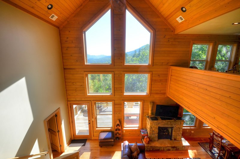 Firefly - amazing view of the Nantahala National Forest - Image 1 - Bryson City - rentals
