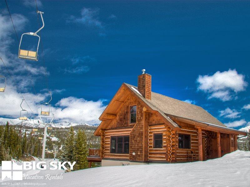 Big Sky Resort | Powder Ridge Cabin 9D Red Cloud - Image 1 - Big Sky - rentals