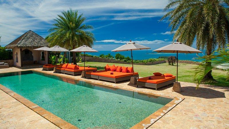 Villa Katrani - Oceans View Koh Samui - Image 1 - Taling Ngam - rentals
