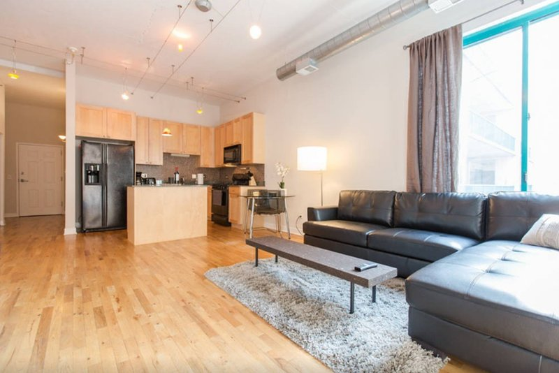Furnished 1-Bedroom Apartment at W Madison St & N Sangamon St Chicago - Image 1 - Chicago - rentals