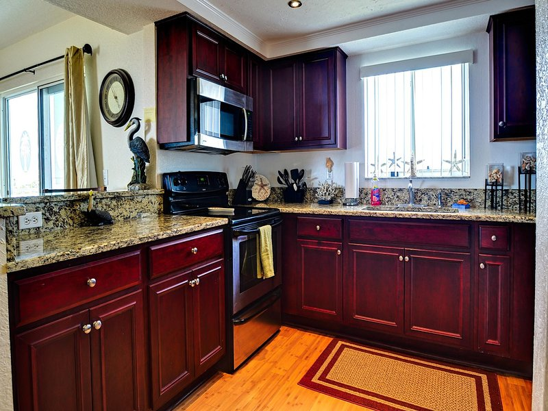 Complete updated kitchen - West Coast Vista 3E Bay View Condo | Sunrise  and  Sunsets! | Recently Remodeled! - Indian Rocks Beach - rentals
