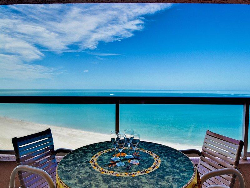 The prefect vacation getaway - Crescent Beach Club  14B Beachfront Condo - Clearwater Beach - rentals