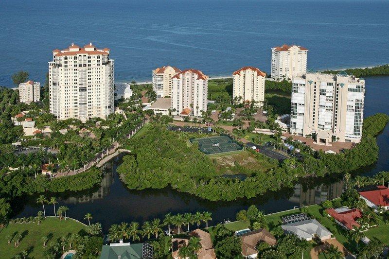 Aerial View - Westshore at Naples Cay 304 - Naples - rentals