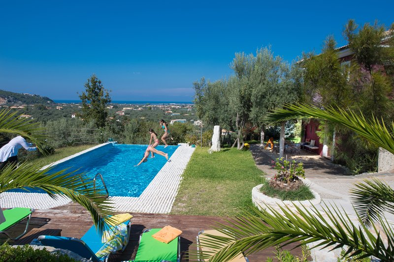 32m2 private swimming pool of outstanding design and style with hydrolysis system - -20% FOR MAY- JUNE-SEPTEMBER! Luxury spacious villa with private pool - Lefkada Town - rentals