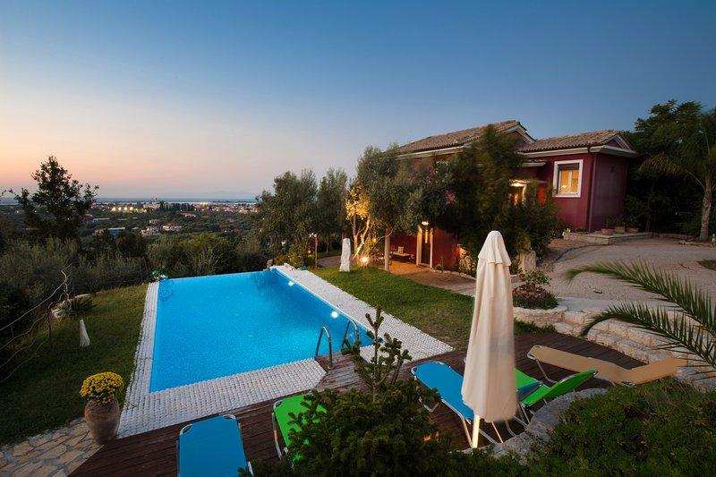 A view of villa Dioni - Alea Resort  Lefkada - Villa Dioni with a great sea view - Lefkada Town - rentals