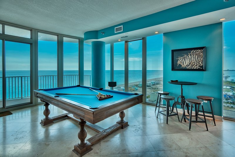 Penthouse Palace, Pool Table,  WALLS of GLASS - entire FLOOR is ALL YOUR'S! - Image 1 - Gulf Shores - rentals