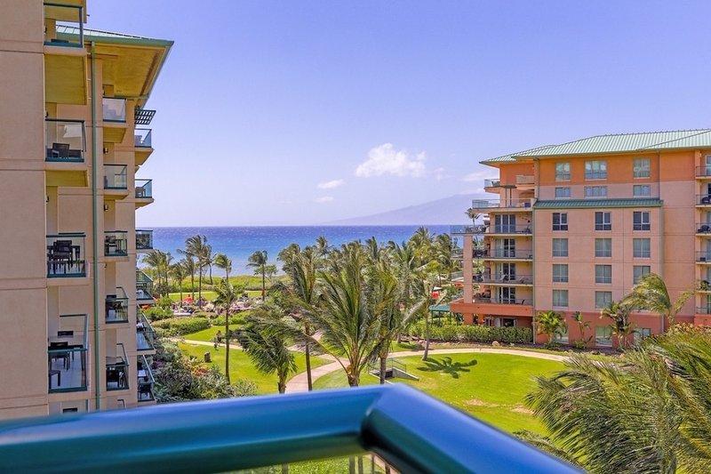 Maui Resort Realty Presents Hokulani 536 @ Honua Kai – Ocean & Mountain Views + Oversized Balcony - Image 1 - Lahaina - rentals