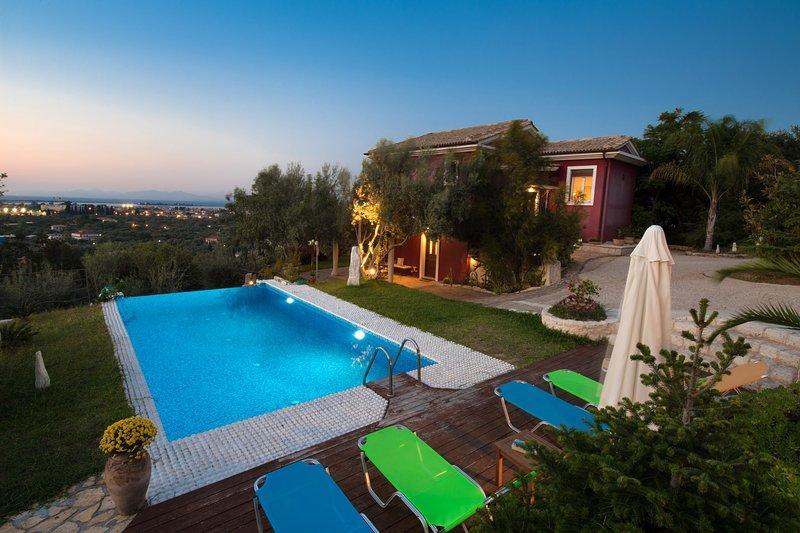 Alea Resort - Villa Dioni with a great view - Image 1 - Lefkada Town - rentals