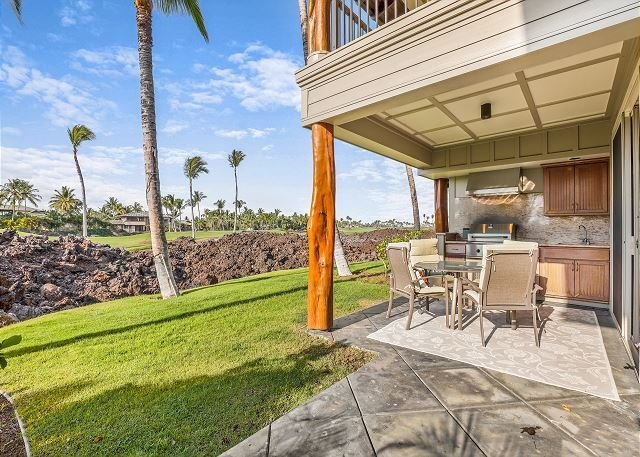 Lanai view - Golf Villas at Mauna Lani Resort - Kohala Ranch - rentals