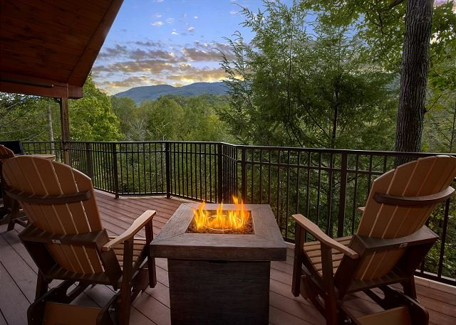 Enjoy the views from this Brand New romantic 1 bedroom Cabin! - Image 1 - Gatlinburg - rentals