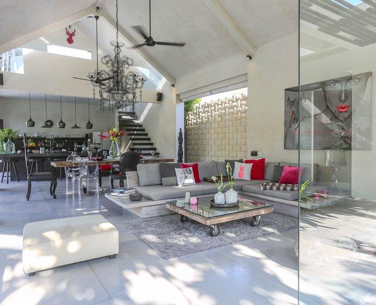 Prana, 3 bed modern designer villa, Nr Seminyak - Image 1 - Seminyak - rentals