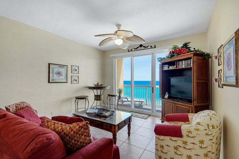 Calypso 8th Flr Center East: 1BR-Master on Gulf - Image 1 - Panama City Beach - rentals