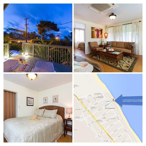 Hawaiian Beach Cottage  - $175/Night Last Minute Booking Specials!  NEW! Lux - Waimanalo - rentals
