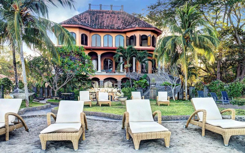 Beach Front Spanish Colonial Villa-Private Pool FL - Image 1 - Playa Flamingo - rentals
