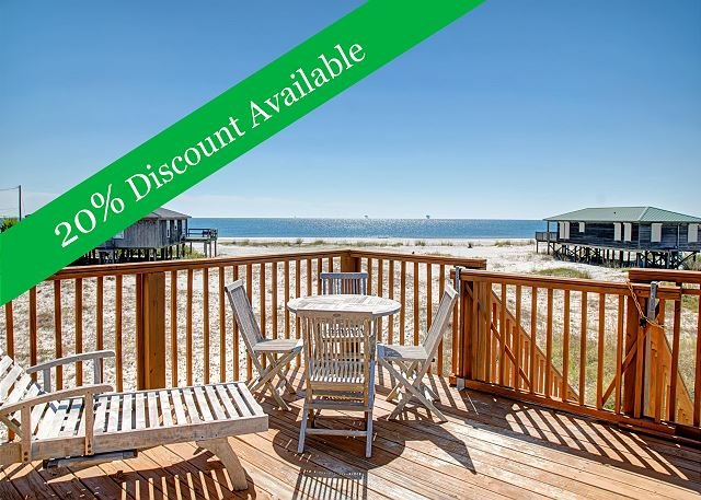 20% Discount Available!   Amazing view of the water   Pet-Friendly! - Image 1 - Dauphin Island - rentals
