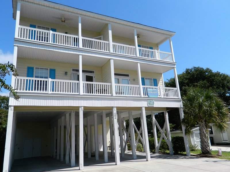 Outside view of home - A Bit of Paradise! With Ocean View - Great Rates! - North Myrtle Beach - rentals