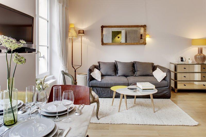 Apartment Michel le Comte holiday vacation apartment rental france, paris, 3rd arrondissement, the marais district neigborhood, parisian apartment - Image 1 - 3rd Arrondissement Temple - rentals
