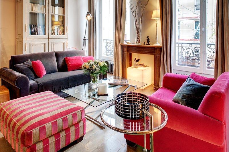 Parisian Terrace Apartment Paris apartment 2nd arrondissement, 2 bedroom short - Image 1 - 2nd Arrondissement Bourse - rentals
