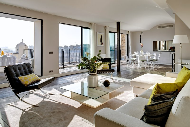 Apartment Saint Martin Paris apartment in 3rd arrondissement, four bedroom - Image 1 - Paris - rentals
