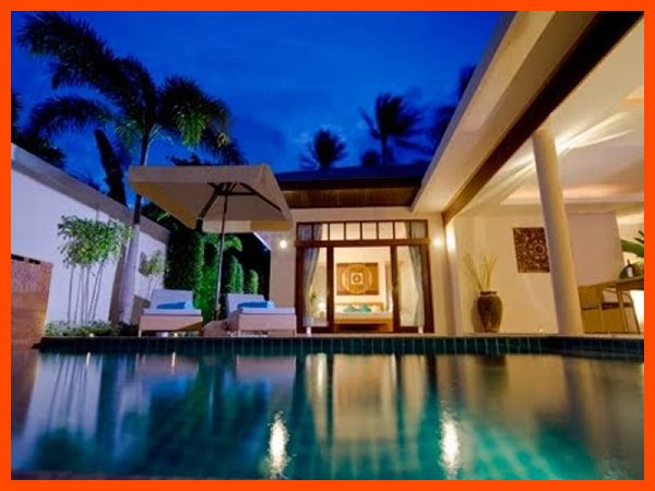 Villa 88 - Tropical outdoor living with private pool sleeps 4 - Image 1 - Plai Laem - rentals