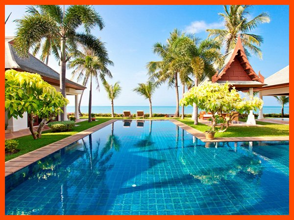 Villa 89 - Beach front luxury with Thai chef service and shared gym - Image 1 - Mae Nam - rentals