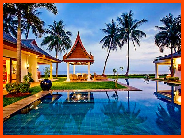Villa 26 - Beach front luxury with Thai chef service and shared gym - Image 1 - Mae Nam - rentals