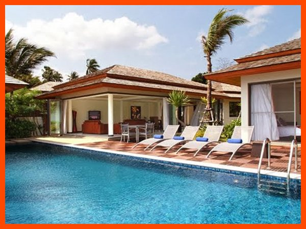 Villa 158 - Bophut beach front with Thai chef service - Image 1 - Bophut - rentals