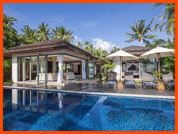 Villa 146 - Bophut beach front with Thai chef service - Image 1 - Bophut - rentals